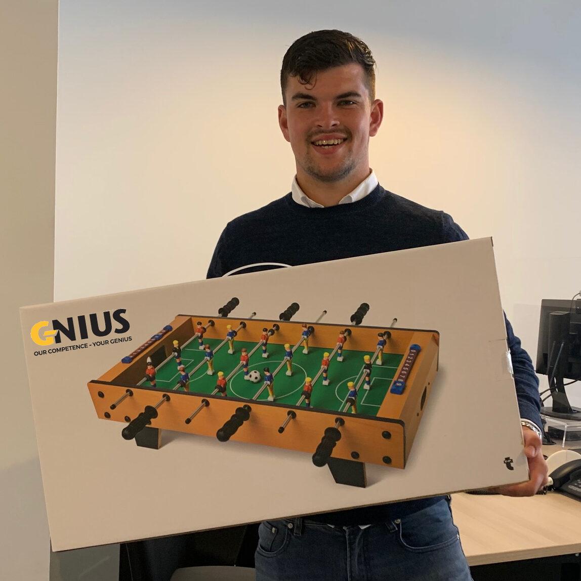 G-Nius Winnaar EK Poule 2021